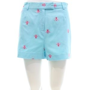 LILLY PULITZER SHORTS WITH BEE STITCHING SIZE 10